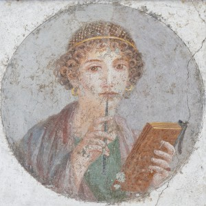 Rooma-aegne portree, väidetavalt Sapphost